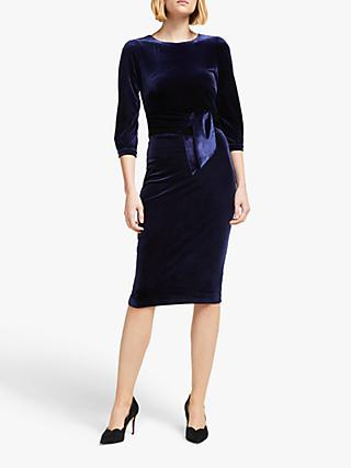 Boden Julianna Velvet Midi Dress
