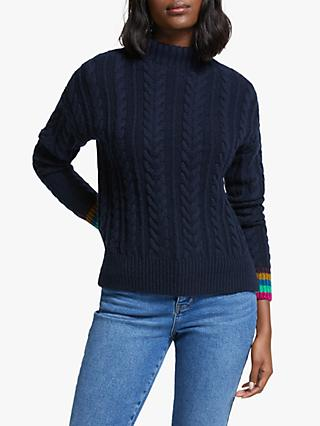 Boden Winifred Chunky Cable Knit Jumper