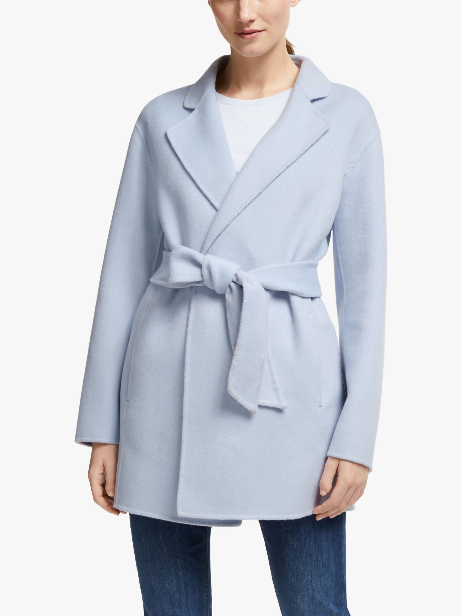 John Lewis & Partners John Lewis & Partners Double Faced Wrap Jacket