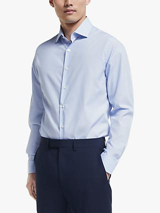 Richard James Mayfair Bengal Stripe Shirt, Blue