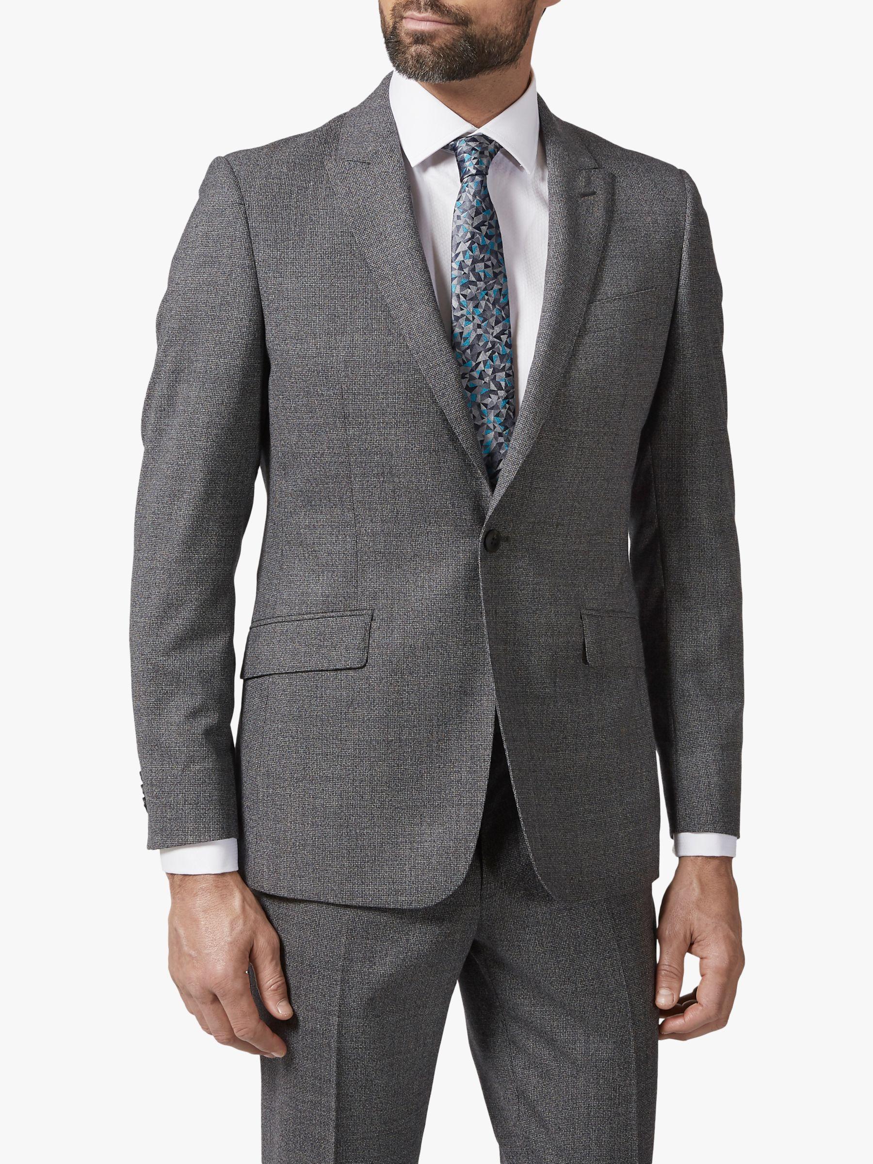 Richard James Mayfair Richard James Mayfair Single Button Melange Suit Jacket, Grey