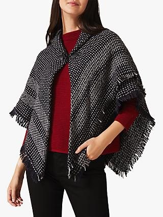 Phase Eight Bobby Woven Cape, Multi