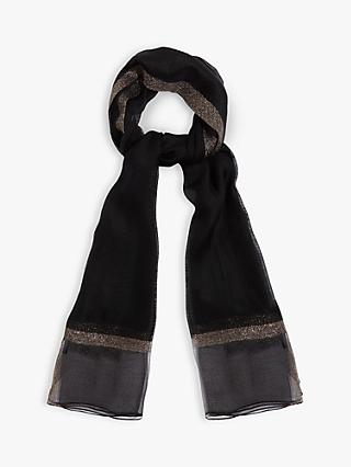 Phase Eight Roxy Sparkle Trim Scarf