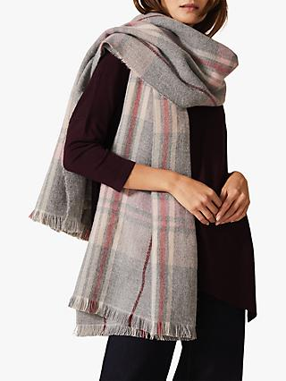 Phase Eight Cadence Check Scarf, Multi