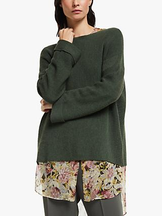 Modern Rarity Links Jumper, Green