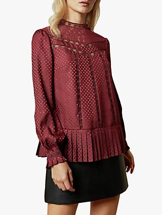 Ted Baker Shilli Animal Lace Swing Top