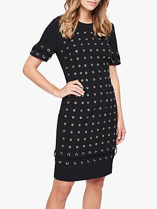 Damsel in a Dress Evlin Eyelet Dress, Black