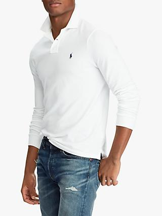 Polo Ralph Lauren Custom Slim Fit Long Sleeve Polo Shirt