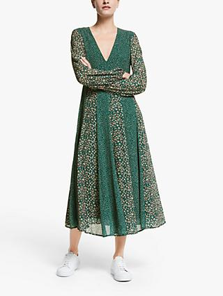 Y.A.S Farah Midi Dress, Green