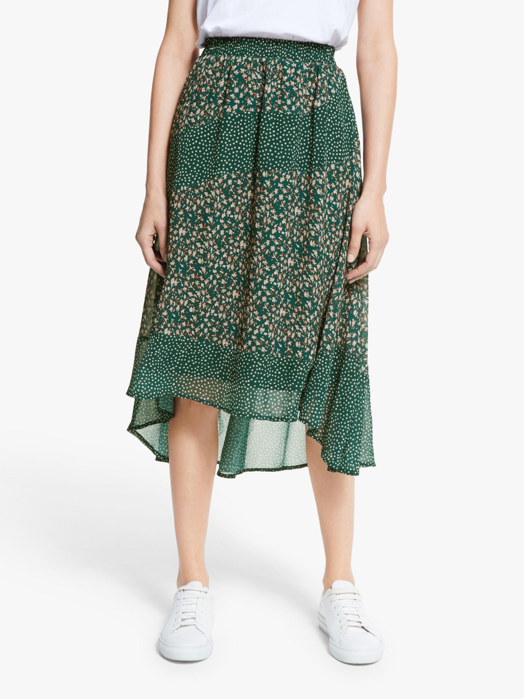 Y.a.s Y.A.S Farah Midi Skirt, Green