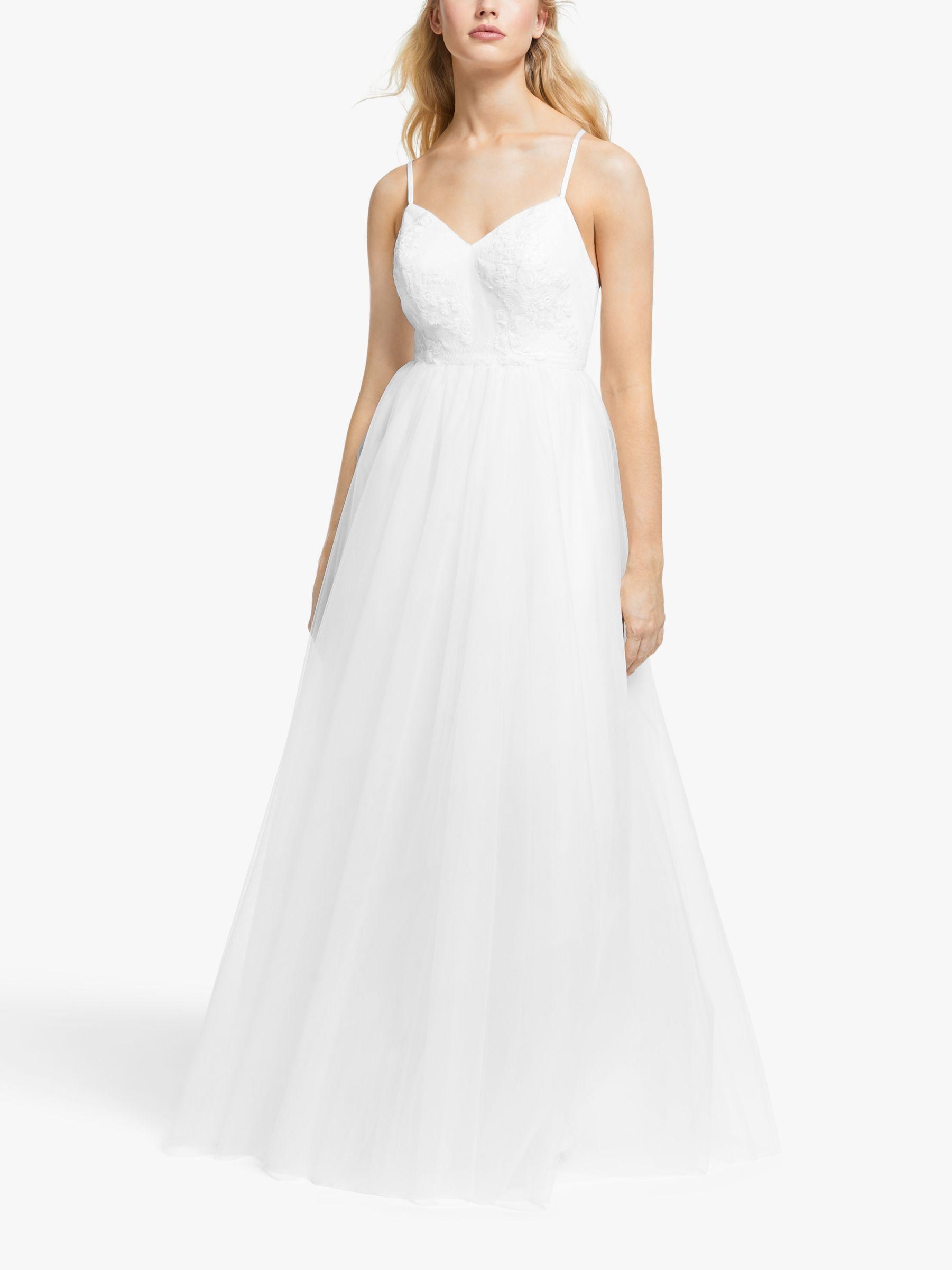 Y.a.s Y.A.S Zetia Maxi Strap Dress, Star White