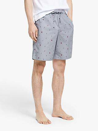 John Lewis & Partners Organic Cotton Surf Lounge Shorts