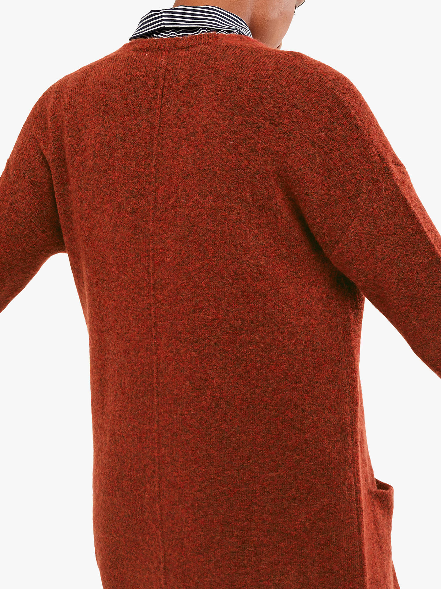 Buy White Stuff Cosy Cardigan, Rust, 8 Online at johnlewis.com