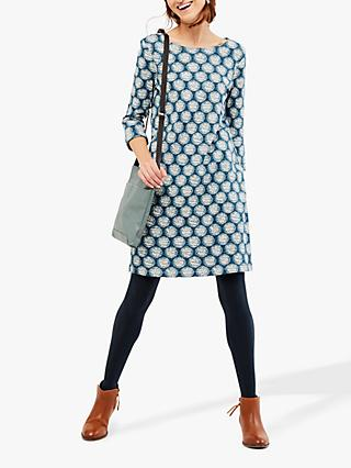 White Stuff Forestry Jersey Dress, Blue