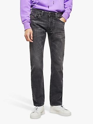 Diesel Larkee Straight Jeans, Grey Light