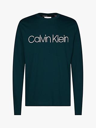 Calvin Klein Cotton Logo Long Sleeve T-Shirt