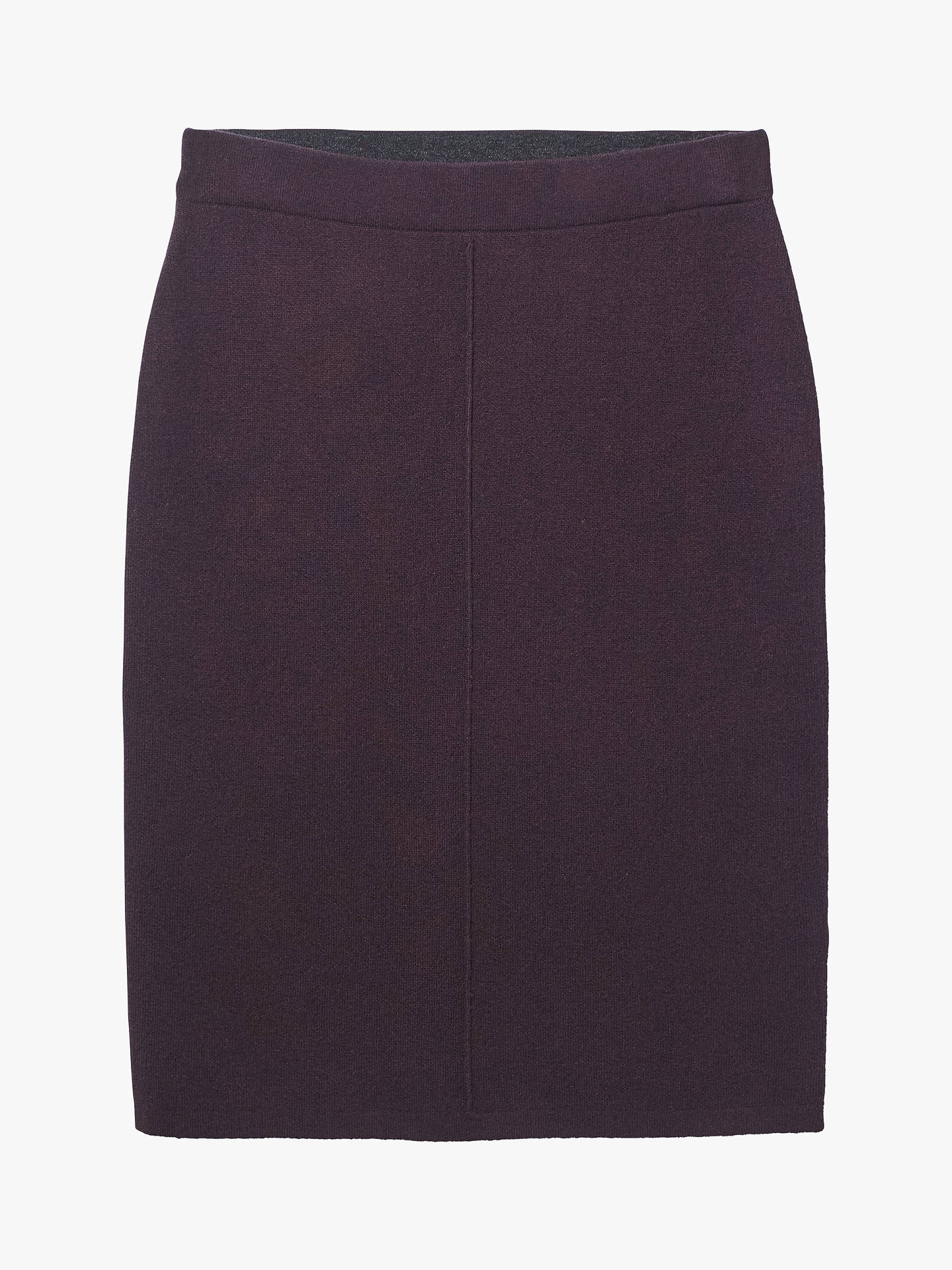 Buy White Stuff Meda Knit Skirt, Rosy Plum, 16 Online at johnlewis.com