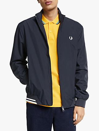 Fred Perry Brentham Sports Jacket, Navy