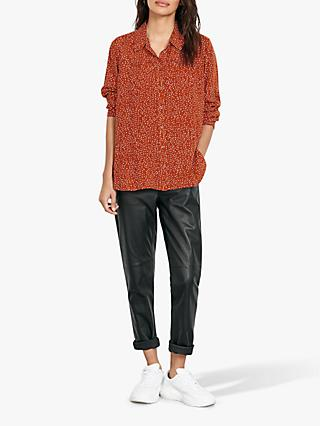 hush Matilda Spot Shirt, Red/White Dot