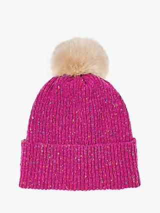 Jigsaw Donegal Pom Wool Hat