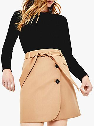 Oasis Wrap Mini Skirt