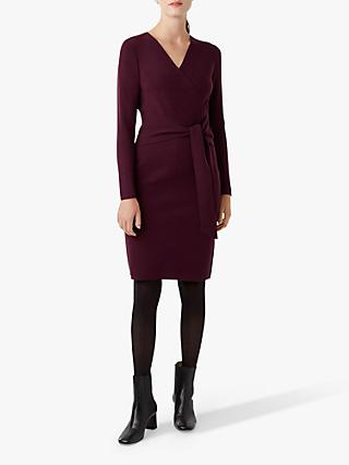 Hobbs Melissa Dress, Plum