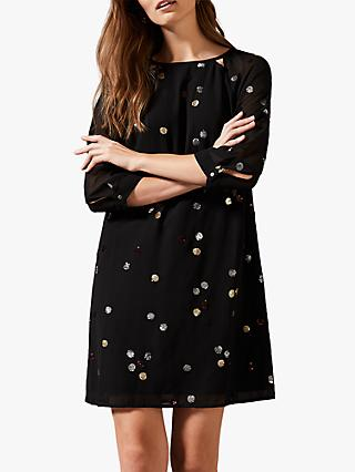 Phase Eight Evie Rose Dress, Black