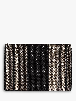 Phase Eight Luna Clutch Bag, Black