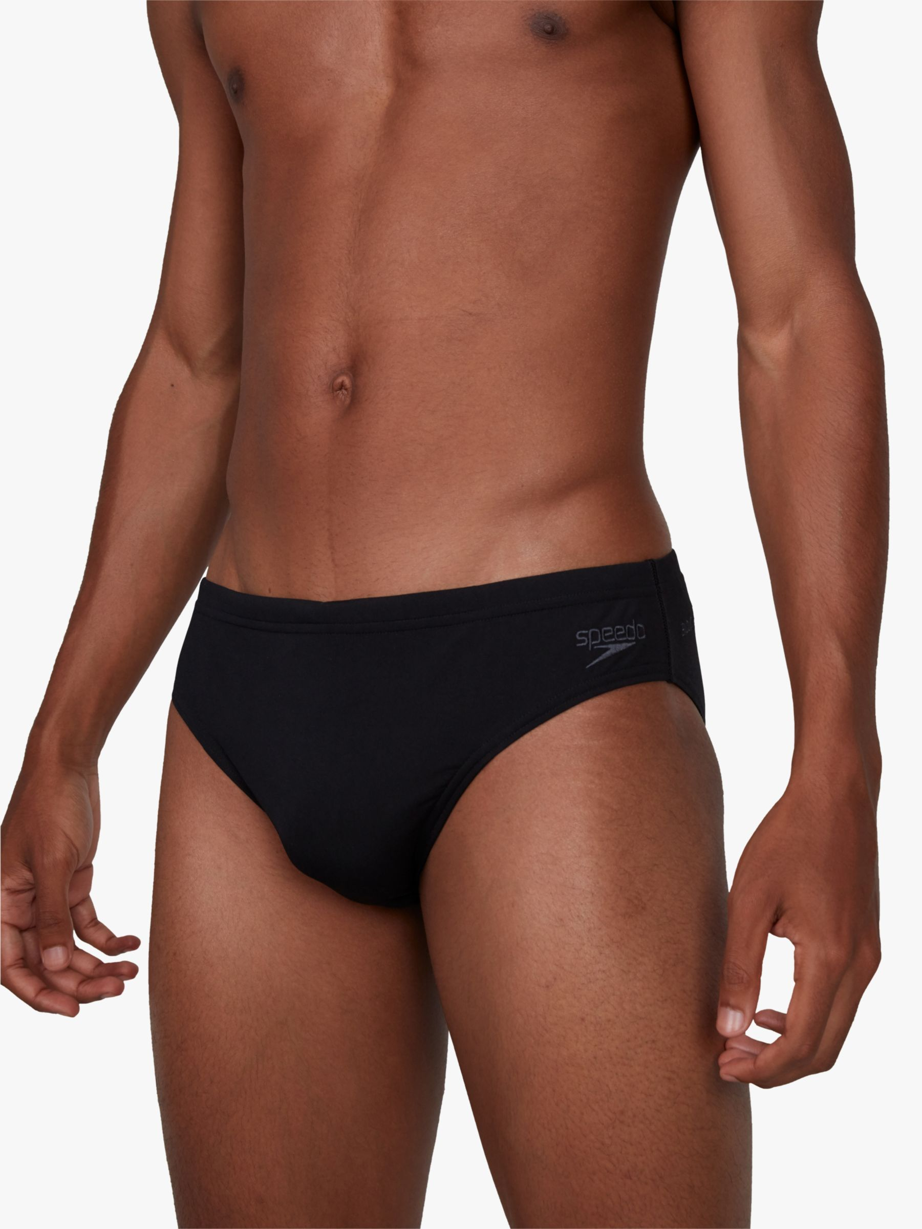 7cm Sportsbrief Herren black 2019 Badehose schwarz speedo Essential Endurance