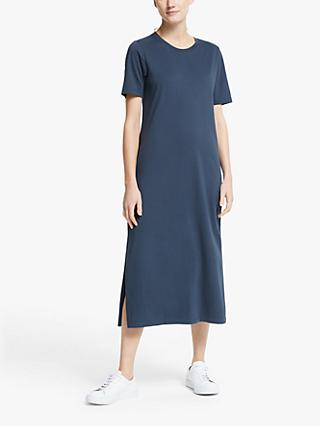 Collection WEEKEND by John Lewis Jersey Midi T-Shirt Dress, Blue