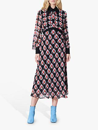 Finery Maida Check Dress, Multi