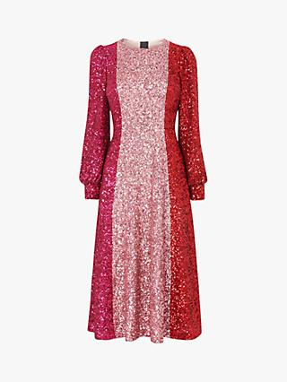 L.K.Bennett Fitzgerald Sequin Dress, Multi