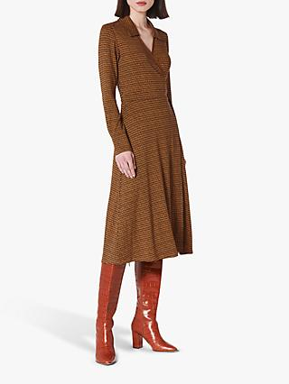 L.K.Bennett Enya Dress, Brown