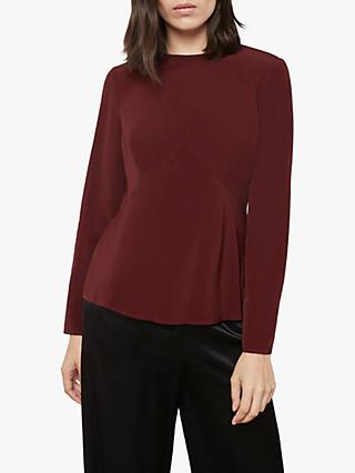 Finery Abbot Tie Back Top, Red