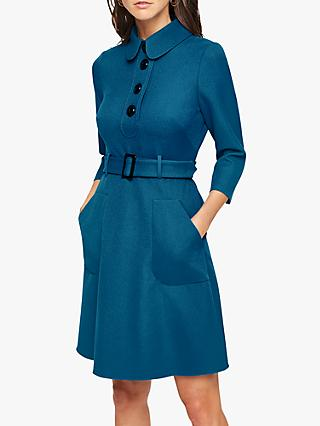 Damsel in a Dress Adie Button Detail Dress, Teal