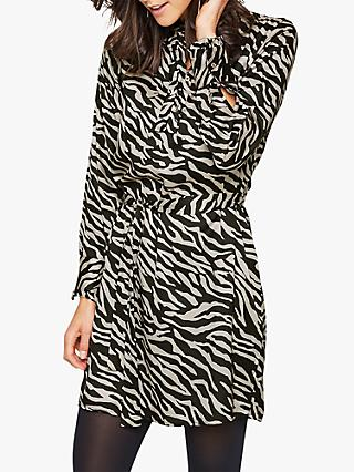 Damsel in a Dress Aimee Zebra Tunic Dress, Neutral