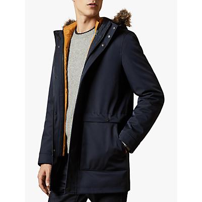 Ted Baker Bryton 3-in-1 Hooded Parka Jacket, Navy