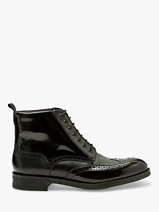 Ted Baker Twrehs Leather Brogue Boots