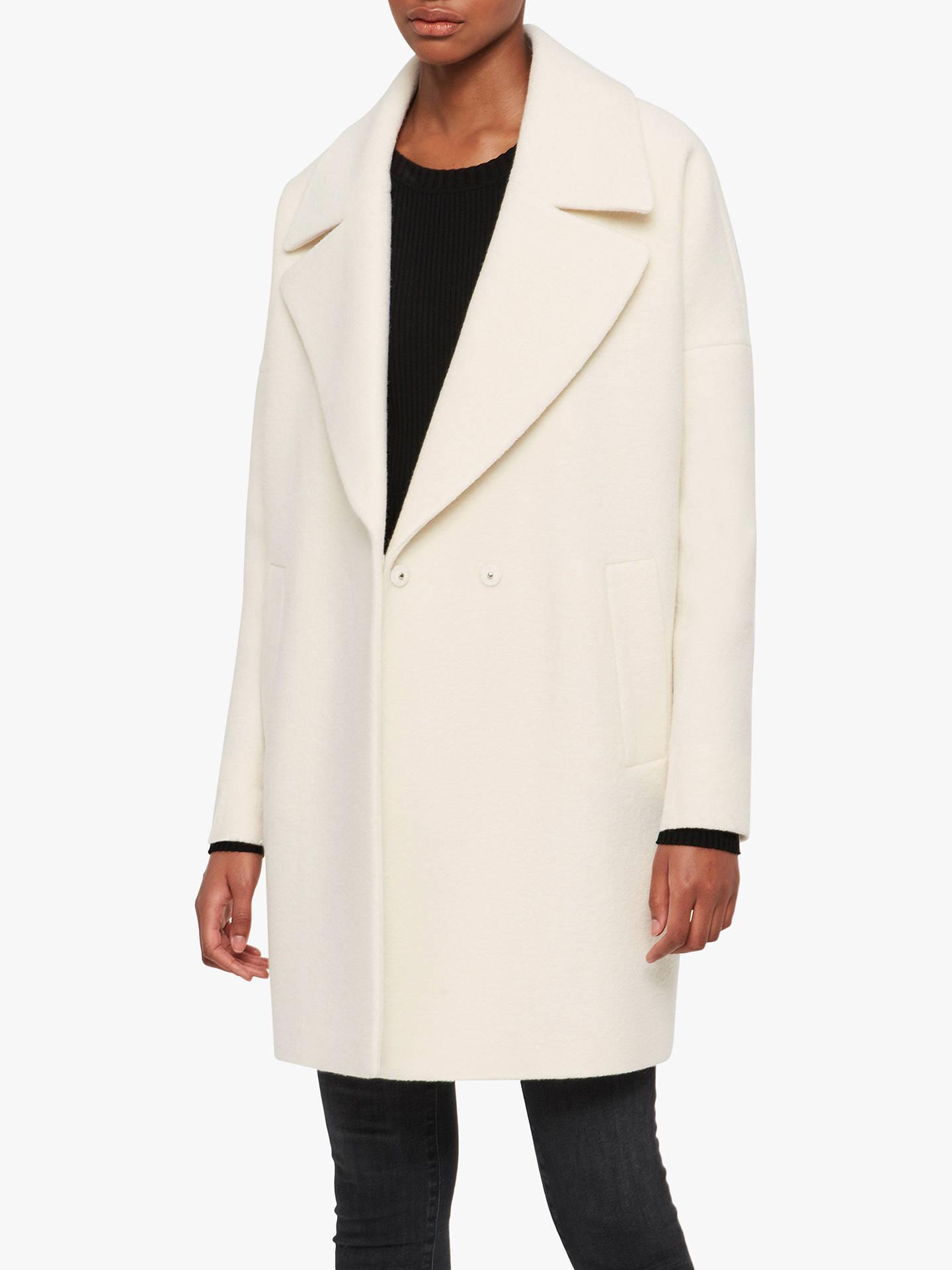 All Saints Jetta Coat, Ecru White by Allsaints