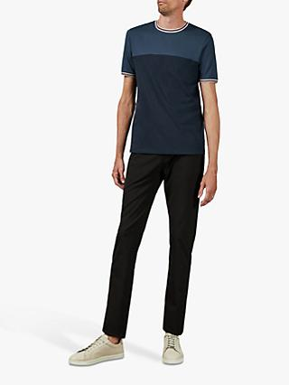 Ted Baker T for Tall Datett Cotton Colour Panel T-Shirt