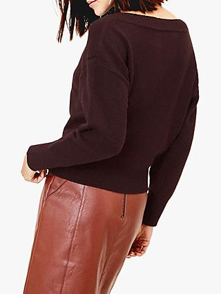 Oasis Christy Boat Neck Jumper