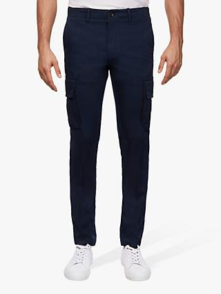 Tommy Hilfiger Bleecker Slim Fit Cargo Trousers, Sky Captain