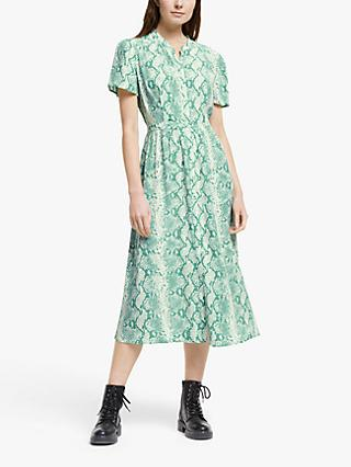 Somerset by Alice Temperley Python Print Shirt Dress, Mint