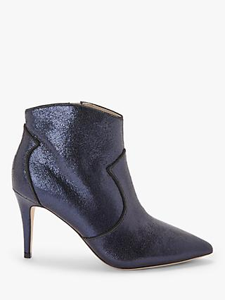 Boden Elystan Leather Pointed Toe Ankle Boots