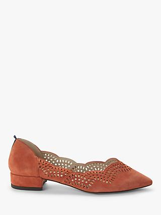 Boden Esme Suede Low Court Pumps