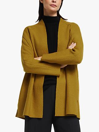 Modern Rarity Raglan Sleeve Coatigan, Yellow