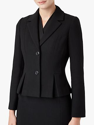 Hobbs Katherine Wool Jacket, Black