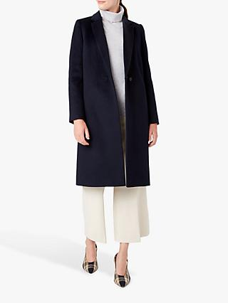 Hobbs Thea Coat, Navy