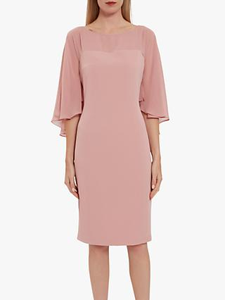 Gina Bacconi Olivina Crepe Dress