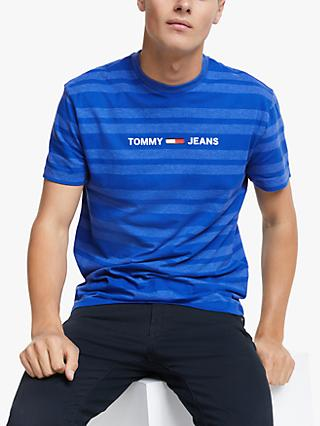 Tommy Hilfiger Heather Stripe T-Shirt, Surf the Web Heather